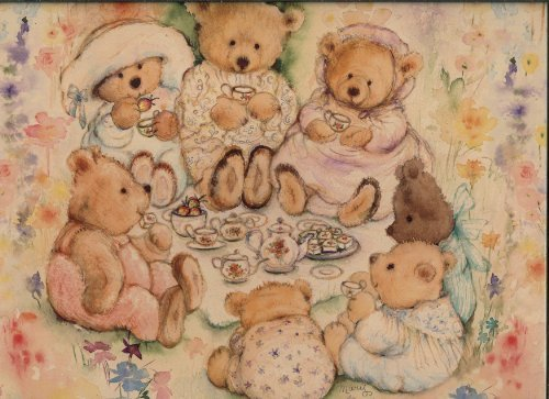 Mary's Bears, Tea Party Picnic, 500 Piece Puzzle by Springbok