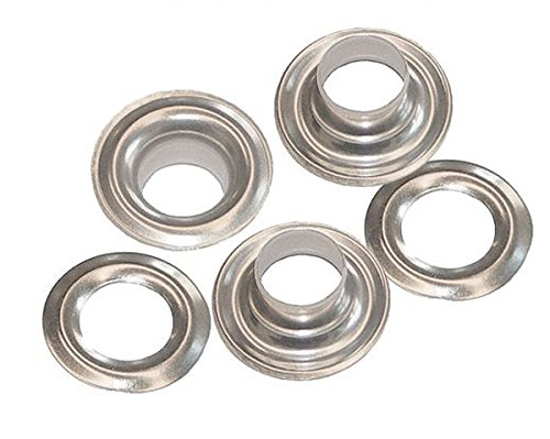 144 Stainless Steel Grommets & Washers 9/32'' Size 1