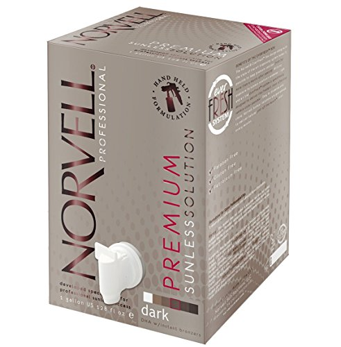 Norvell Premium Sunless Tanning Solution - Dark, Gallon/128 fl.oz. by Norvell