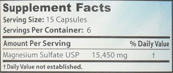 sales de epsom (sulfato de magnesio): Amazon.es: Salud y cuidado personal