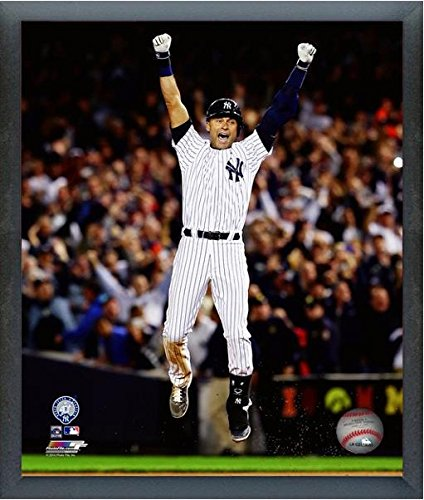Derek Jeter New York Yankees Final Game Photo (Size: 12