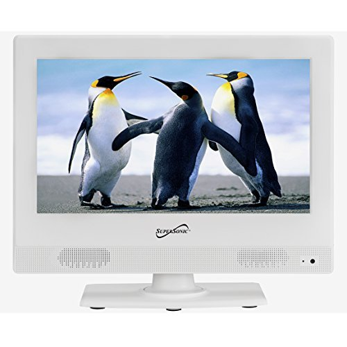 supersonic-sc-1311-white-133-inch-led-widescreen-hdtv-1080p-television-with-hdmi-input