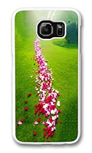 Samsung Galaxy S6 Case and Cover -Bustling like King7 PC case Cover for Samsung S6 and Samsung Galaxy S6 White