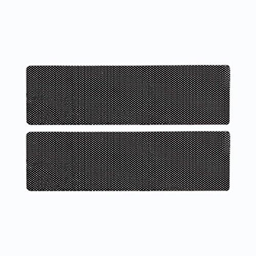 Zone Tech Cling-On Sun Shade - 2-Piece Black Premium Quality Cling-On Sun Shade