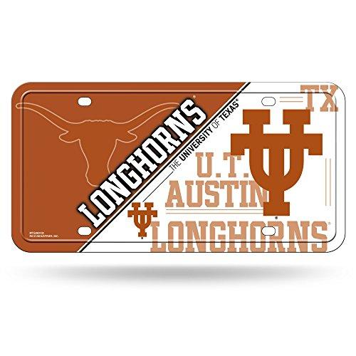 ncaa-texas-longhorns-metal-auto-tag