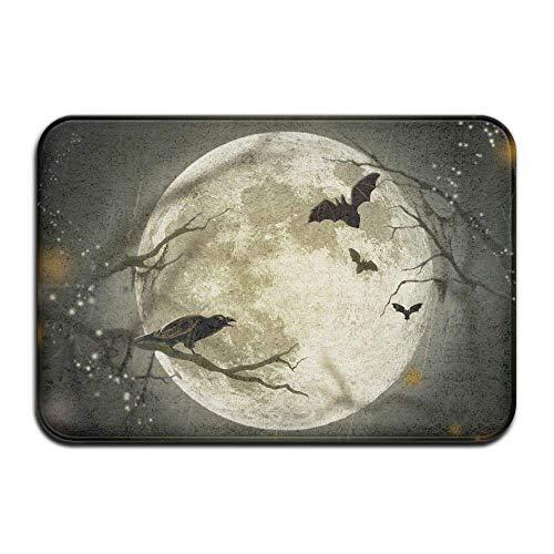 Carl McIsaacDoor Welcome Home Decor Doormat, Halloween Moon