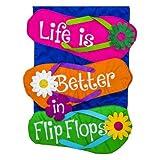 Cheap Evergreen Enterprises, Inc Life is Better in Flip Flop Flag