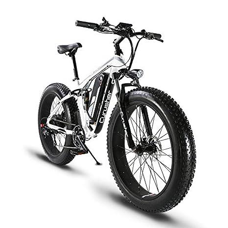 Extrbici Xf800 E Bike Mountain Bike 1000w 48v 13ah 624wh Batteria Bici Elettrica Da 26 Pollici Cambio Shimano 7 Marce Freni Idraulici Batteria