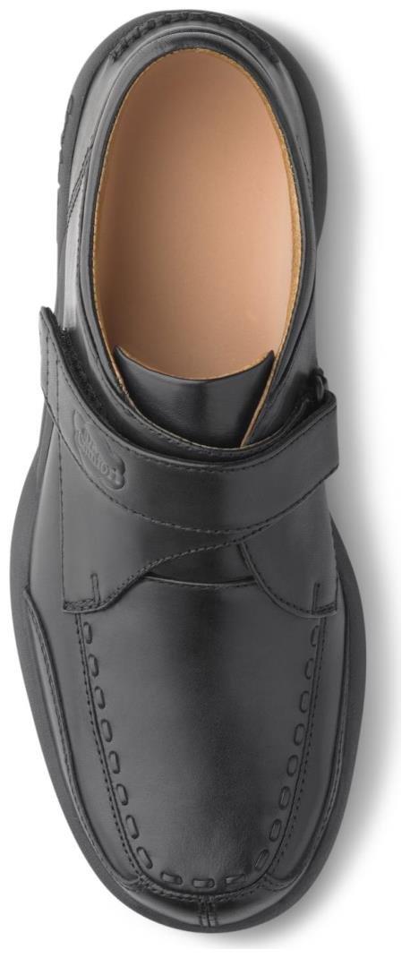 Dr. Comfort Frank Men's Therapeutic Diabetic Extra Depth Dress Shoe: Black 7 Wide (E/2E) Velcro by Dr. Comfort (Image #2)