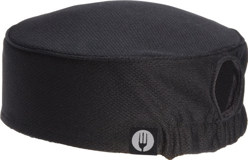 Chef Works Women's Total Vent Chef Beanie (DFAOW) (Womens Cap Cook)