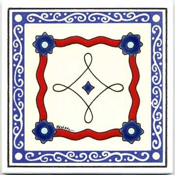 Amazon.com: Álbum Colcha diseño de azulejos: Home & Kitchen