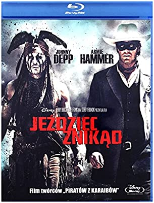53ed8f696f7 Amazon.com: The Lone Ranger [Blu-Ray] (English audio): Johnny Depp ...
