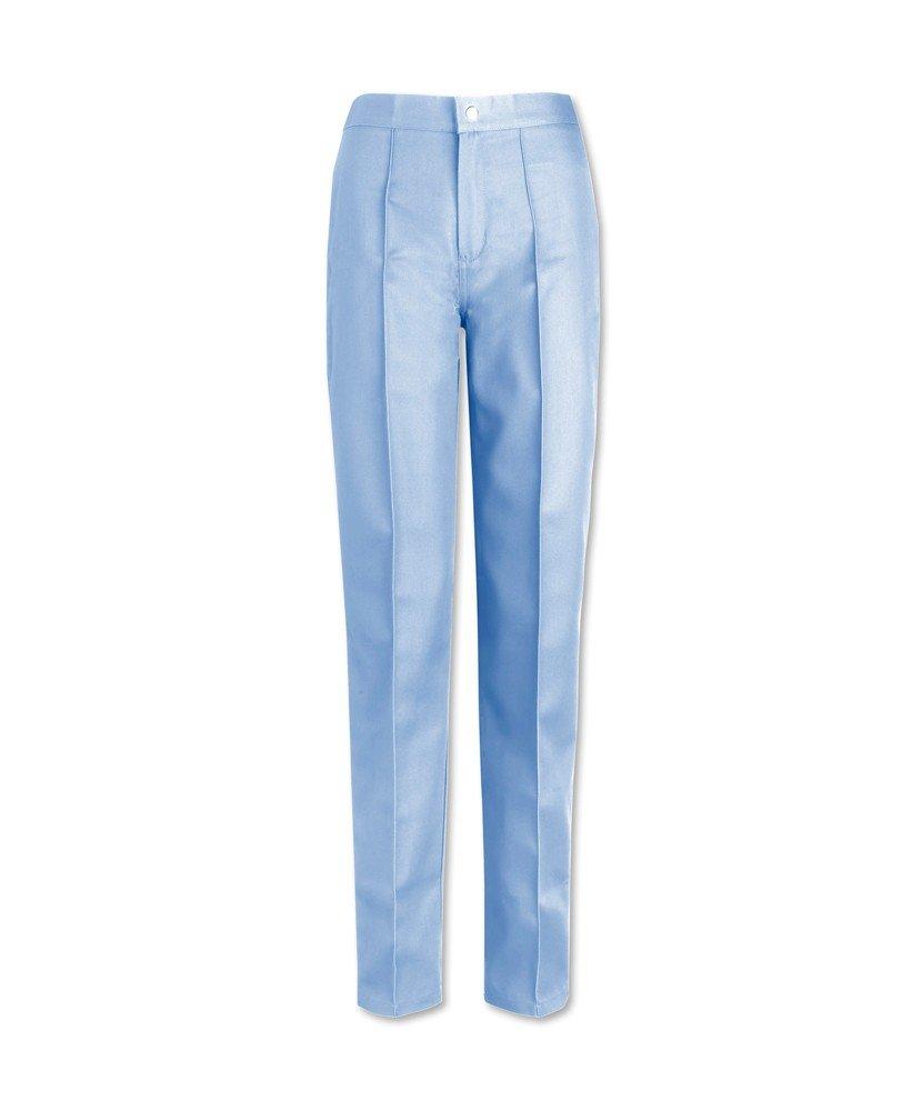 Alexandra W40-pb-tl-12pour femme Devant plat Pantalon, Haut, taille 12, Bleu pâle Bleu pâle