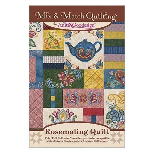 Anita Goodesign Embroidery Designs Rosemaling - Rosemaling Design