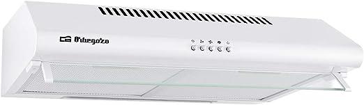 Orbegozo ST 07260 D BL - Campana extractora standard 60cm, 2 motores de 80 W, 3 niveles de potencia, 2 filtros de aluminio desmontables, extracción 347,4 m3/h, iluminación LED: Amazon.es: Hogar
