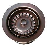 Whitehaus WH200-MABRZ 3-1/2-Inch Waste Disposer Trim, Mahogany Bronze