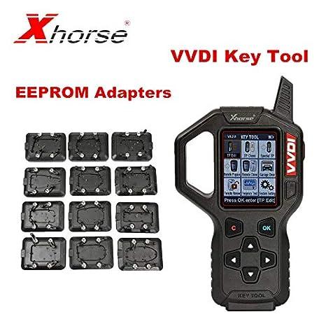 Xhorse VVDI Key Tool Remote Key Programmer with Full: Amazon