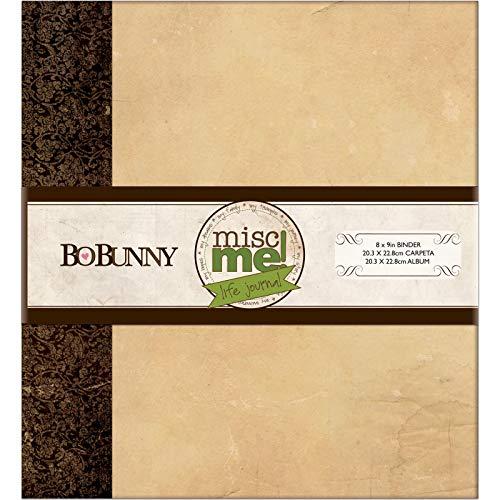 Kraft 12424778 Misc Me Binder Life Journal, 8 by 9-Inch,