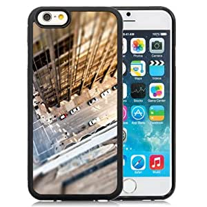 NEW Unique Custom Designed iPhone 6 4.7 Inch TPU Phone Case With Look Down City Rooftop_Black Phone Case