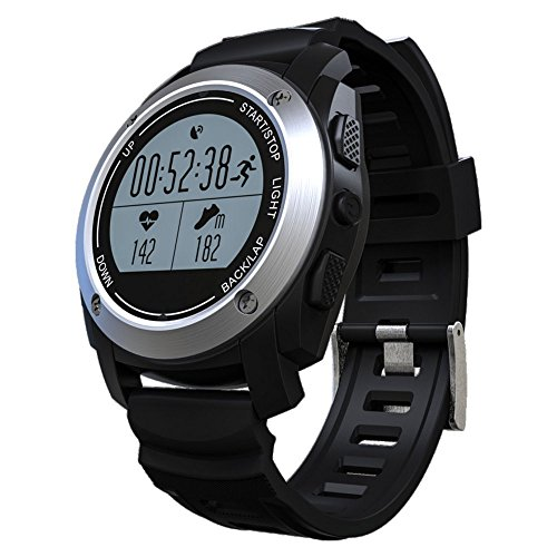 Goophone S928 GPS Heart Rate Smart Watch With Environment Outdoor Sports Bluetooth watch For Ios& Android