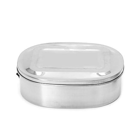 Lunji Caja de Almuerzo Acero Inoxidable Bento Lunch Box ...