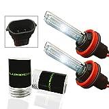 07 tahoe hid headlights - Lumenon HID Xenon Conversion Headlight Replacement Bulbs 1 pair (H11 H9 H8, 6000k Diamond White)