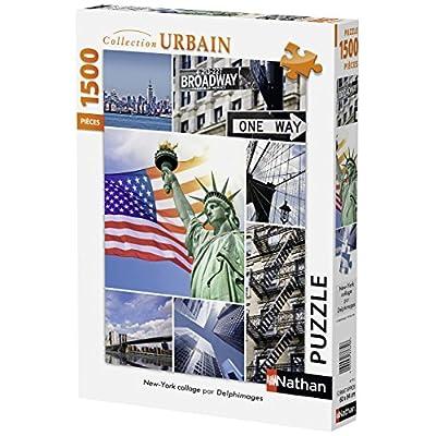 Nathan 87771 Puzzle Classic New York 1500 Pezzi