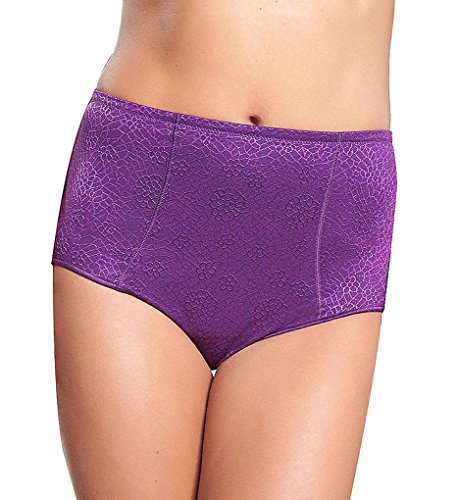 Chantelle C Magnifique High-Waist Brief, L, Pansy (Chantelle Women Underwear Briefs)