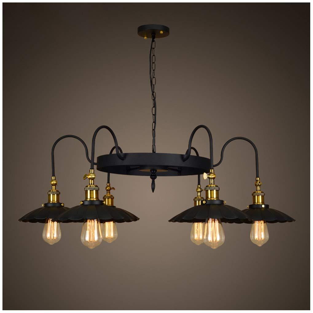 AXIU シャンデリア ペンダントライト現代吊りランプレトロ人格シャンデリアled鉄分子マジックビーンランプリビングルームの寝室 天井照明 B07NJL629R