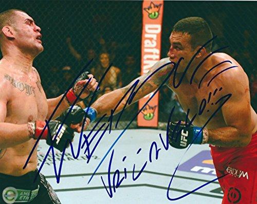 Autographed Fabricio Werdum UFC MMA 8x10 Photo w/ COA