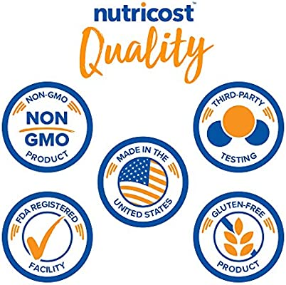 Nutricost Premium MCT Oil Powder .5LBS - Best for Keto, Ketosis, and Ketogenic Diets - Zero Net Carbs - Made in The USA, Non-GMO and Gluten Free