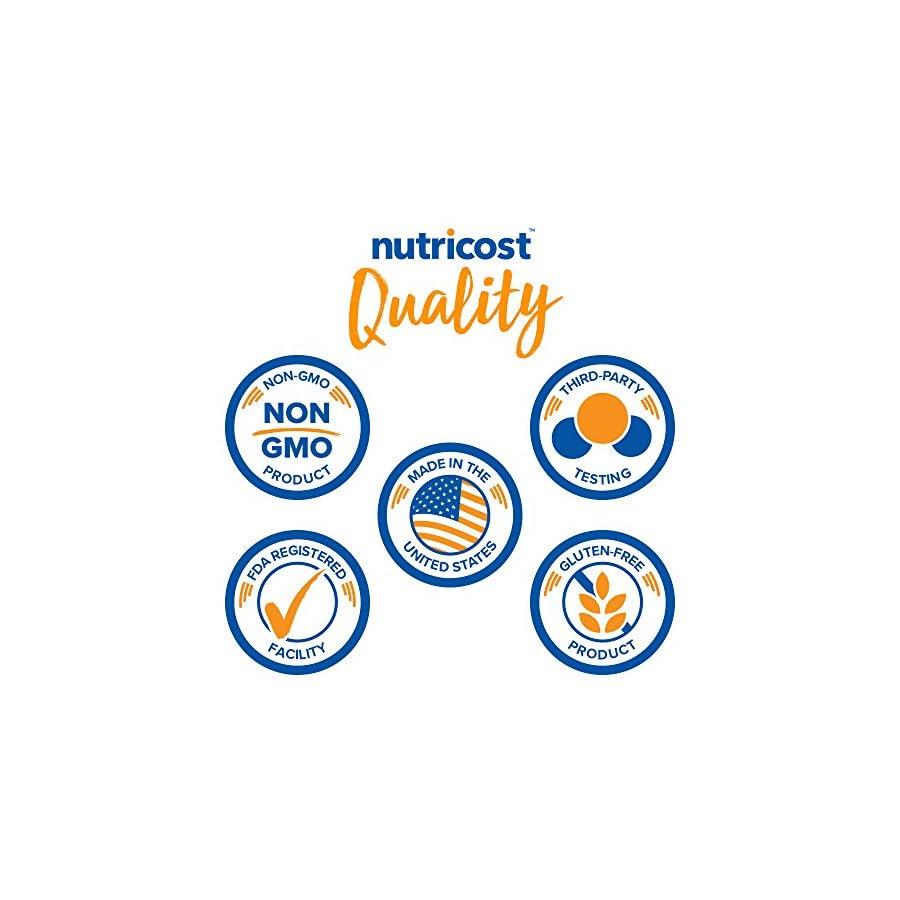 Nutricost N Acetyl L Cysteine (NAC) 600mg Non GMO, Gluten Free, Vegetable Caps