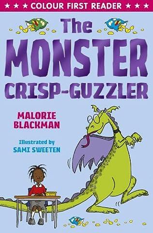 book cover of The Monster Crisp Guzzler