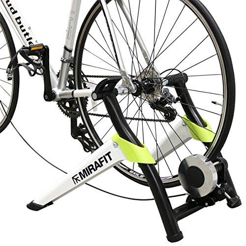 MiraFit - Rollentrainer für Fahrrad - verstellbar mit 8 Gängen