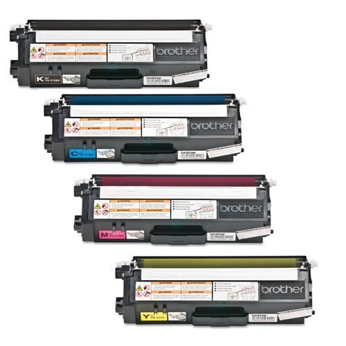 Aplus © 4pk Tn-315 Tn-310 Brother Laser Toner Cartridge Set Premium OEM Quality Brother Tn315 Toner Cartridges 4 Color Set Professionally Remanufactured for Brother Dcp-9055, Dcp-9055cdn, Hl-4150cdn, Hl-4570cdw, Hl-4570cdwt, Mfc-9460cdn, Mfc-9560cdw, Mfc-9970cdw (Black, Cyan, Magenta, Yellow)
