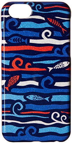 Vera Bradley Snap On Case for iPhone 6, Cobalt Fish ()
