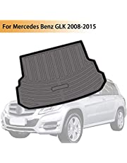 Psler Vehicle Rear Cargo Liner Trunk Tray Floor Mat for Mercedes Benz