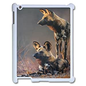 Love Dog Pattern Hard Case Cover Back Skin Protector for Ipad 2,3,4 CaseHSL385209