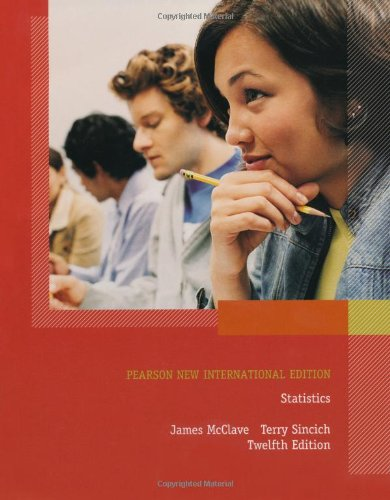 Statistics Pearson New International Edition PDF