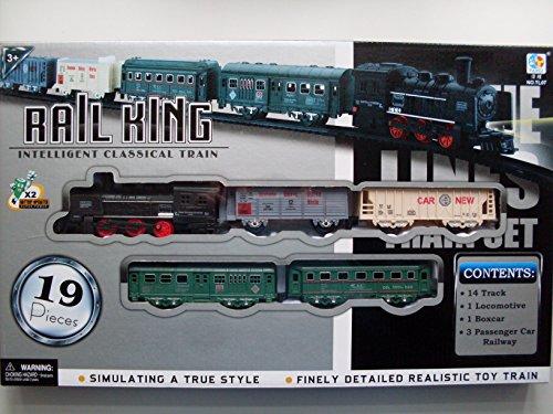 Eisenbahn Set, Zug Set (Batterie), Rail King, Art. Nr. 8319