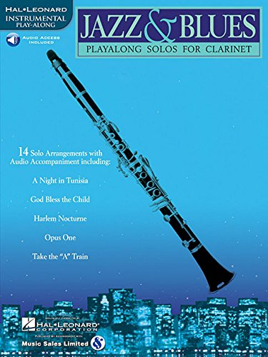 Jazz & Blues: Play-Alongs Solos for - Clarinet Hal Leonard Jazz