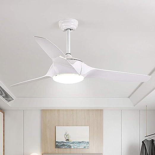 DEI QI Los Ventiladores de Techo Modernos encienden la lámpara del ...