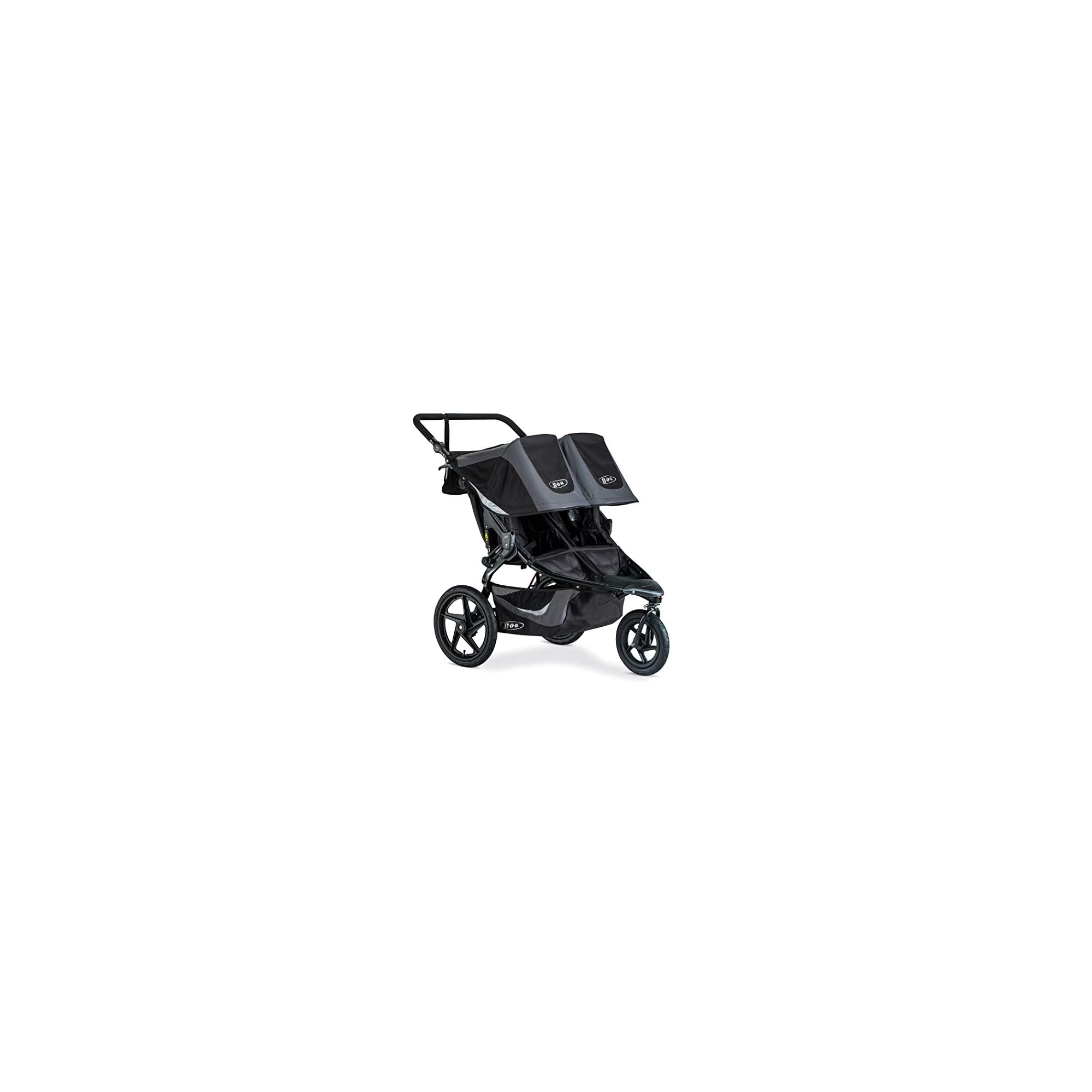 BOB Revolution Flex 3.0 Duallie Jogging Stroller, Graphite Black [Old Version]