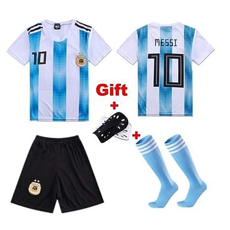 HS-FWJ.HW Lionel Messi NO.10 Futbol Club Barcelona Traje de ...