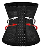 Waist Shaper / Hot Cincher Promotes Tummy Control / for Hourglass Fat Burner (XL, Black(3-5 days delivery))