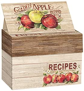 Lang Apple Orchard Recipe Card Box by Susan Winget (2011086)