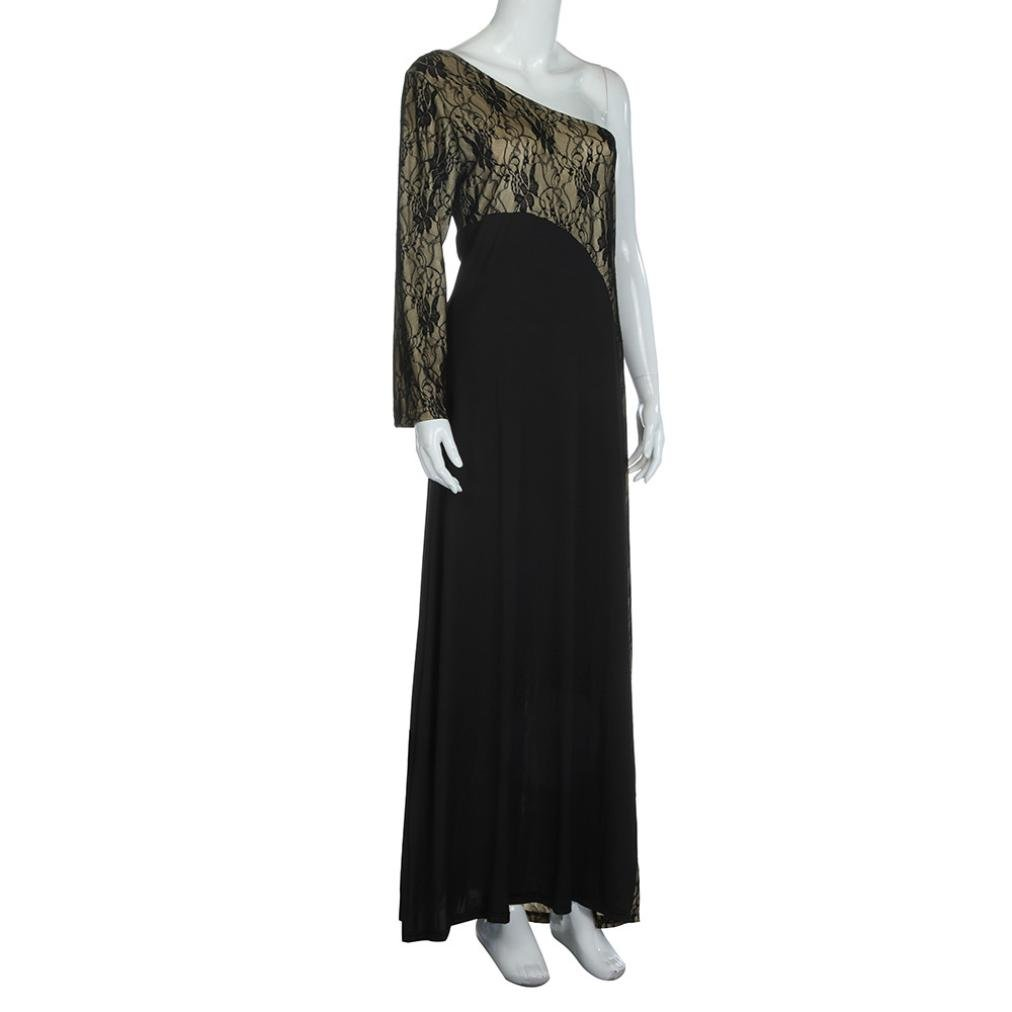Women Dresses, Women Formal Wedding Bridesmaid Long Ball Prom Gown Cocktail Dress (S, Black): Amazon.co.uk: Business, Industry & Science