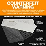 """UPPERCASE Premium Ultra Thin Keyboard Protector for Macbook Pro with Retina Display 13 - 15 Inches, Fits 2012-2015 Retina MacBook Pro 13"""" and 15"""", US Keyboard Layout (Apple Model number: A1398, A1425, A1502)"""
