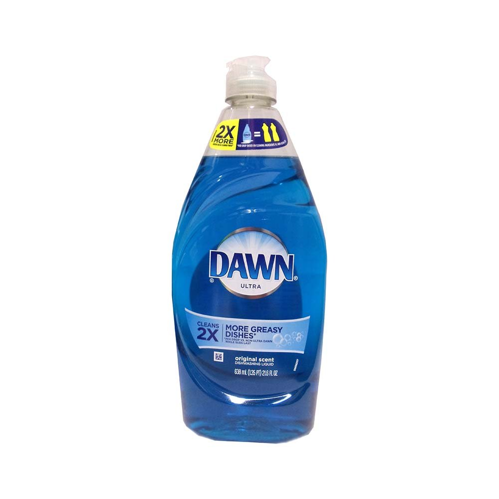 Dawn Ultra Cleans 2X More Greasy Dishes Original Scent 21.6 oz , Automotive, tool & industrial , Office maintenance, janitorial & lunchroom , Cleaning supplies , Dish detergent