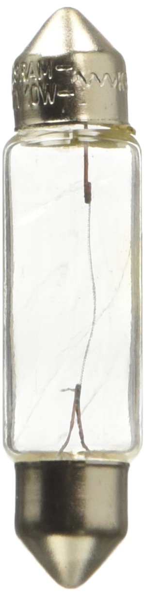 Osram 6411 ORIGINAL Sofittenlampe Sockel SV8.5-8, 12V, 10W, 1 Lampe, Anzahl 10 OSRAM GmbH 95000515